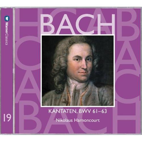 """Cantata No.61 Nun komm, der Heiden Heiland BWV61 : IV Recitative - """"Siehe, ich stehe vor der Tür"""" [Bass]"""