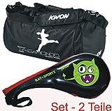BAY® SET Angebot 2 Teile : ALIEN Doppelmitt und Sporttasche TAEKWONDO KWON small für Kinder - Geschenk Geschenkidee