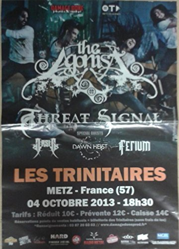 The Agonist/Threat segnale - 70 x 100 cm Visualizza/Poster