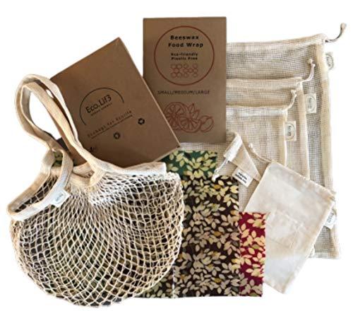 Beeswax Wrap Kit | 4 Envoltura Cera Abejas 1 Small