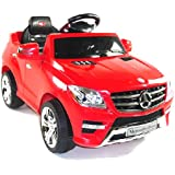 Licensed Mercedes ML350 6V Electric Ride on Kids Car with Remote - Red - New