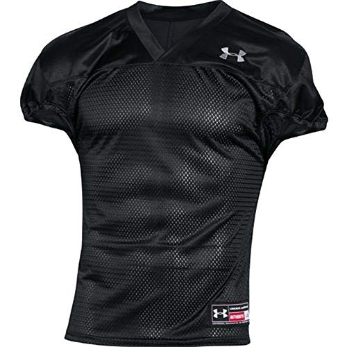 Under Armour American Football Practice Jersey - schwarz Gr. M (Under Armour Mesh-jersey)