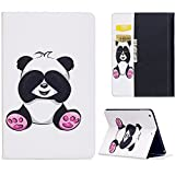 "KingSang iPad Air 2013 Housse, iPad 5 9.7"" Cuir Coque Etui avec Pochette Stand pour Apple iPad Air 9.7"" 2013 Étui PU Cuir Housse Wallet Flip Case Leather Cover - Panda"