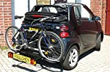 Fahrradträger Comfort zwei Fahrräder smart fortwo 451 Cabrio
