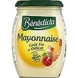 Bénédicta - Mayonnaise nature - Le pot de 510g - Prix Unitaire - Livraison Gratuit Sous 3 Jours