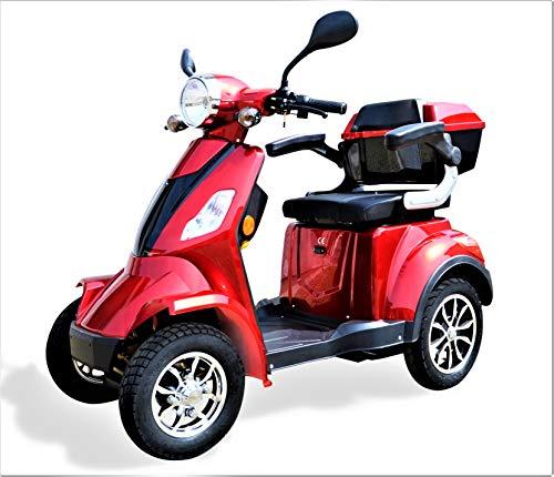 Eco Engel Elektromobil, Seniorenmobil 4 Rad, Seniorenfahrzeug, 1000W,