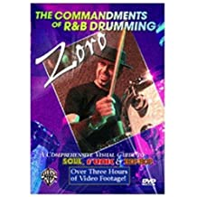 The Commandments of R&B Drumming: A Comprehensive Visual Guide to Soul, Funk, and Hip-Hop