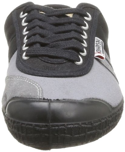 Kawasaki 23 Two Tone Retro E14, Baskets mode homme Noir (Black Grey)