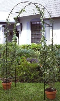 Rosenbogen Metall Rankhilfe von Haushalt International bei Du und dein Garten