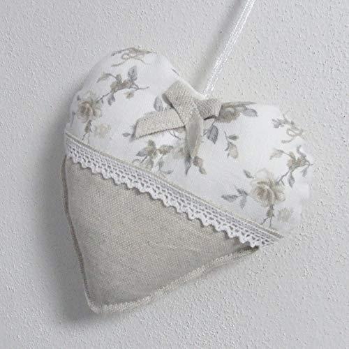 Niedliche dekorative Herzen, Textil Dekoration, Kleine Vintage Rosen, das Beste Geschenk für die Schönste Küche von HomeAtelier -