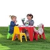 Starplast Kinder Sitzgruppe Kindertisch Kinderstühle Sitzgarnitur Kindermöbel Gartenmöbel