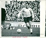Vintage Photo of Dave Mackay Football Player.