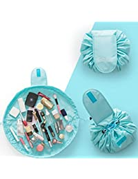 Portable Waterproof Lazy Cosmetic Bag Drawstring Finishing Travel Storage Bag Makeup Organizer Wash Bag- Assorted...