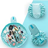 MK Portable Waterproof Lazy Cosmetic Bag Drawstring Finishing Travel Storage Bag Makeup Organizer Wash Bag Assorted Color