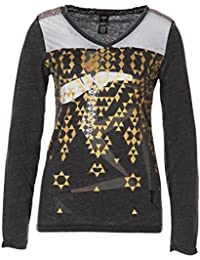 Custo Barcelona - Camiseta de manga larga - para mujer