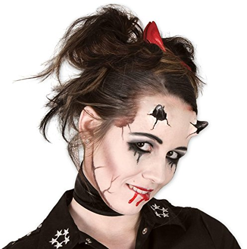 texapplikation - Make-up Set mit Schminke (Halloween Make Up-girls)