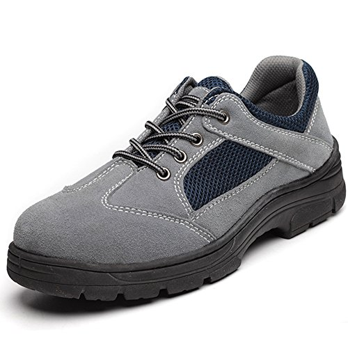Scarpe Sneakers Sportivo All'aria Aperta Scarpe Da Trekking Uomo Grigio 43 EU Traspirante