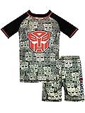 Transformers Jungen Autobots Zweiteiliger Badeanzug Grau 116