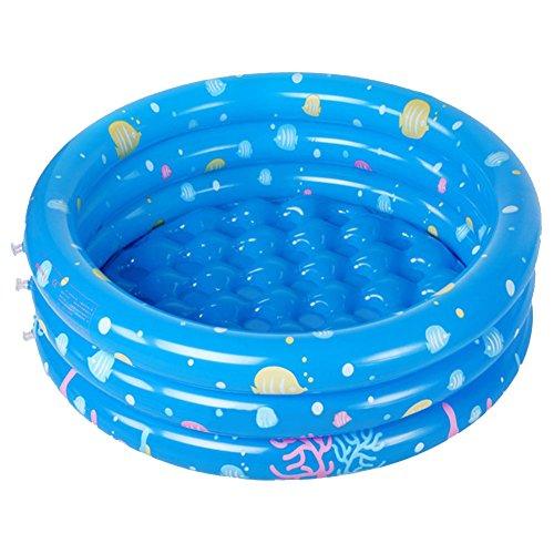 LXQGR Karikatur-Aufblasbarer Swimmingpool-Sicheres PVC-Ozean-Ball-Pool-Baby Scherzt Bad-Bassin,B