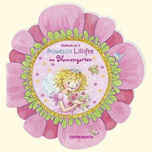 Prinzessin Lillifee im Blumengarten: Malbuch ab 3 (Verkaufseinheit) (Kreativ- und Sachbücher)