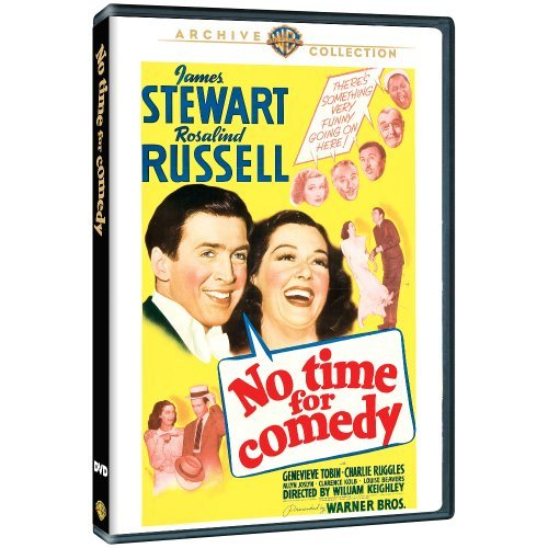 No Time for Comedy by James Stewart