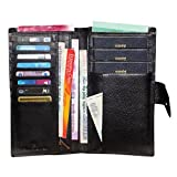 #5: Style98 100% Leather Passport Holder||Passport wallet||Boarding Pass holder||Passport case||Credit Card Holder||Organizer Wallet for Men,Women,Boys & Girls