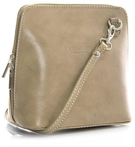 Big Handbag Shop, Borsa a tracolla donna One Tortora chiaro
