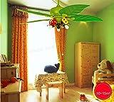 JINER-Historieta ventilador dormitorio infantil-3 lámpara nuevos niños