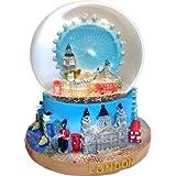 Snow Globes 1069 Grande boule à neige London Eye et panorama urbain