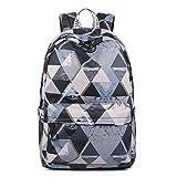 RMXMY Tasche große Kapazität Jugend Rucksack Dame Druck Mode Persönlichkeit kreative Studenten High School Junior High School Campus Trend Wilde Umhängetasche Tasche