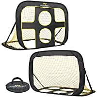PodiuMax 2 in 1 Pop-Up Football Goal, Perfect for Improving Passing and Shooting Accuracy with Target Shot