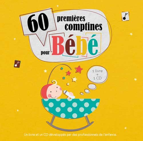 60 Premires comptines pour bb (1CD audio)
