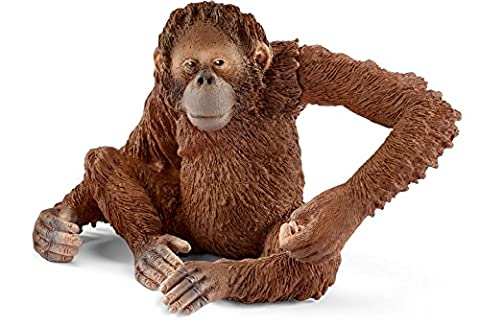 Schleich 14775 - Orang-Utan Weibchen Figur (Jungle Orangutan)
