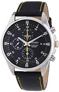 Seiko Men's Analogue Quartz Watch with Leather Strap - SNDC89P2 (B005HIREJK) | Amazon Products