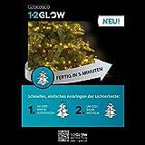 Lumineo Lichterkette Weihnachtsbaumbeleuchtung 150cm 792 LED Warmweiß