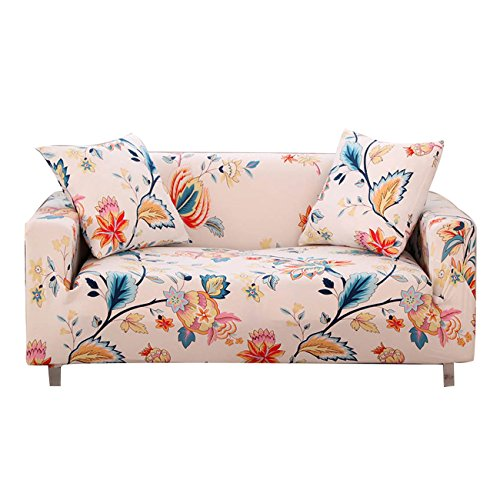 FORCHEER Funda de sofá elástica Protector para sofás Cubre sofá Universal - 1/2/3/4 Plazas