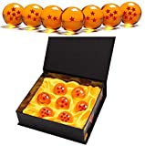 Monuary 7 Piezas Bolas Dragon Ball, Bolas de Dragón 1 a 7 Estrellas con Caja de Regalo,...