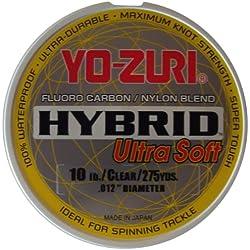 Fluorocarbono Hybrid Ultra Soft Yo-Zuri 20lbs 9.7kg 0.438mm 250Mt Made in Japan