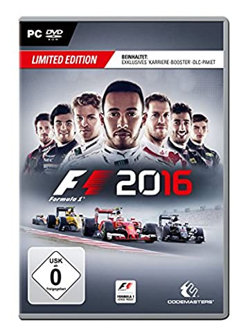 F1 2016 Limited Edition (Pc Games Rennspiele)