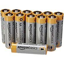 AmazonBasics AA Performance Alkaline Batteries (12-Pack) - Packaging May Vary