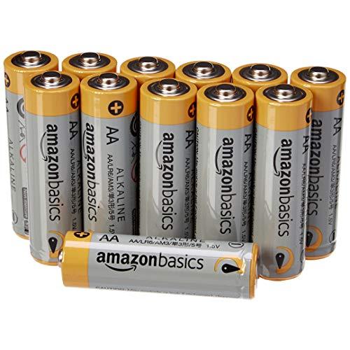 AmazonBasics - Pile Stilo Alcaline AA Performance, confezione da 12