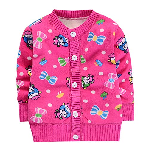 Coupon Matrix - JUSTSELL ♪❤ Clearance Sales,Toddler Little Girls Baby Sweatshirt, Buttons Front Hoodie Sweater,Cartoon Print Jackets