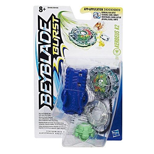 Beyblade Burst Trottola con lanzador Kerbeus K2 (Hasbro B9490ES0)