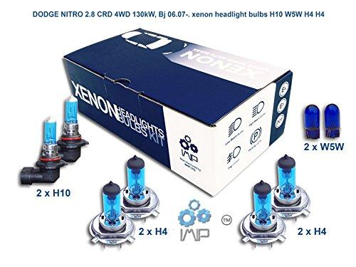 Xenon-Scheinwerfer H10 W5W H4 H4