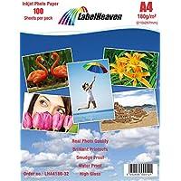 100feuilles Label Heaven Papier Photo A4180g/m² ultra brillant imperméable