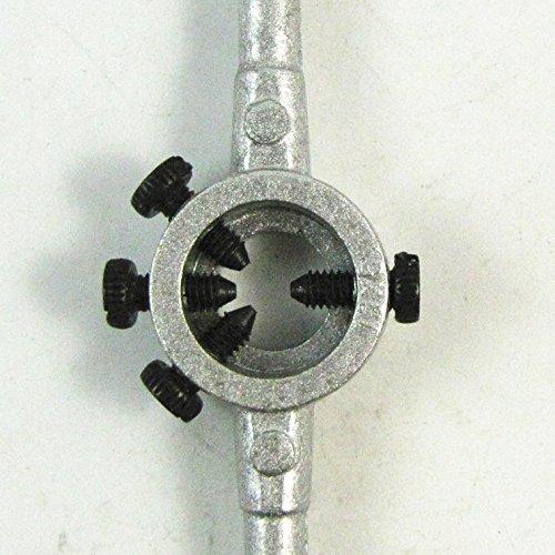 4 vis en métal réglable M3-4 (20 * 5) Diamètre Die poignée ronde Stock Titulaire