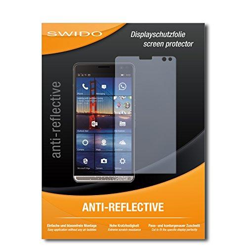 SWIDO Schutzfolie für HP Elite X3 [2 Stück] Anti-Reflex MATT Entspiegelnd, Hoher Härtegrad, Schutz vor Kratzer/Displayschutz, Displayschutzfolie, Panzerglas-Folie