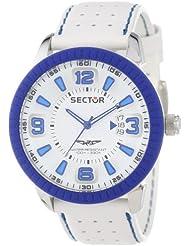 Sector Herren-Armbanduhr Analog Quarz Leder R3251119002