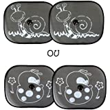 Bambisol 2 Pare Soleils Latéraux Coccinelle ou escargot
