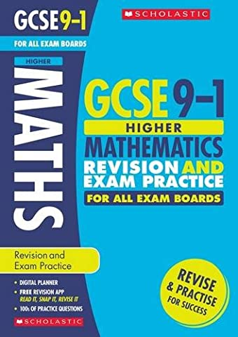 Maths Higher Revision and Exam Practice Book for All Boards: Higher